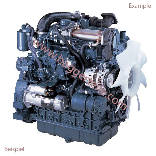 T1910266001 Motor kpl.TB228 passend für z.B. Takeuchi